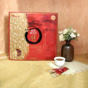 Čaj z korejského červeného ženšenu - balení 100 sáčků