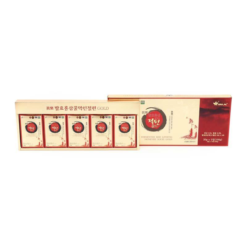 Ženšenové plátky 100 g - dárkové balení