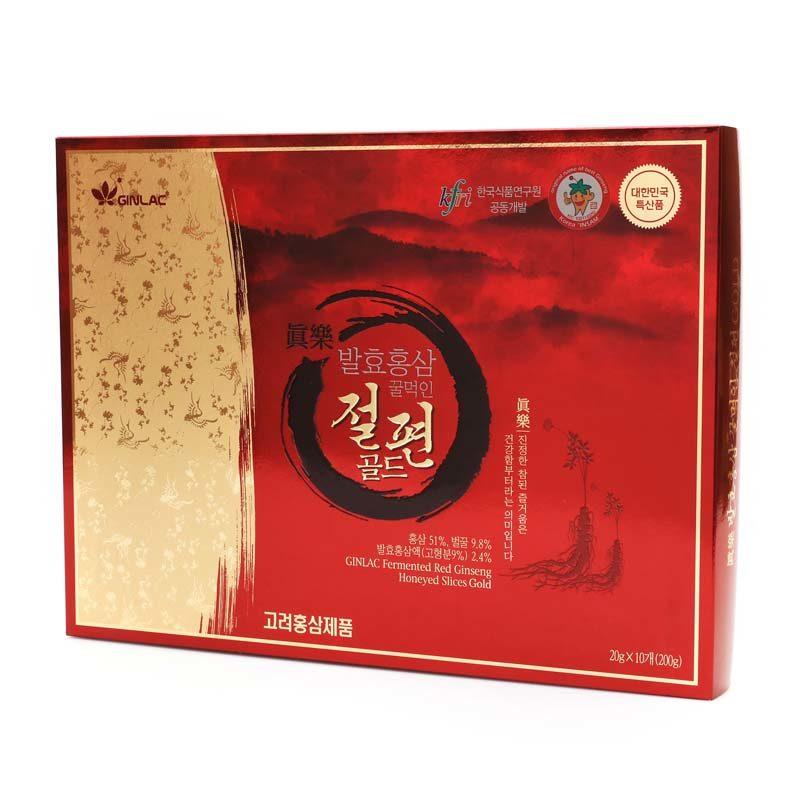 Ženšenové plátky 200 g - dárkové balení
